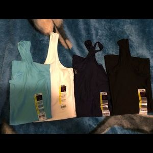 Tops - 4 tank tops and 1 T-shirt